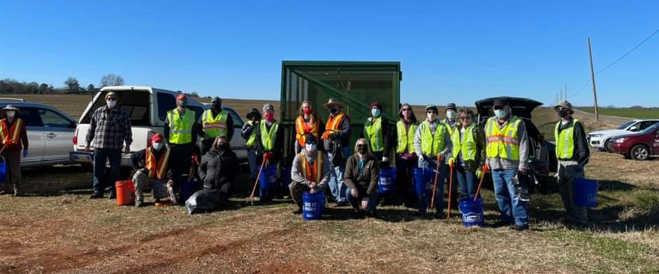 Trash Attack and Waterway Cleanup March 6, 2021
