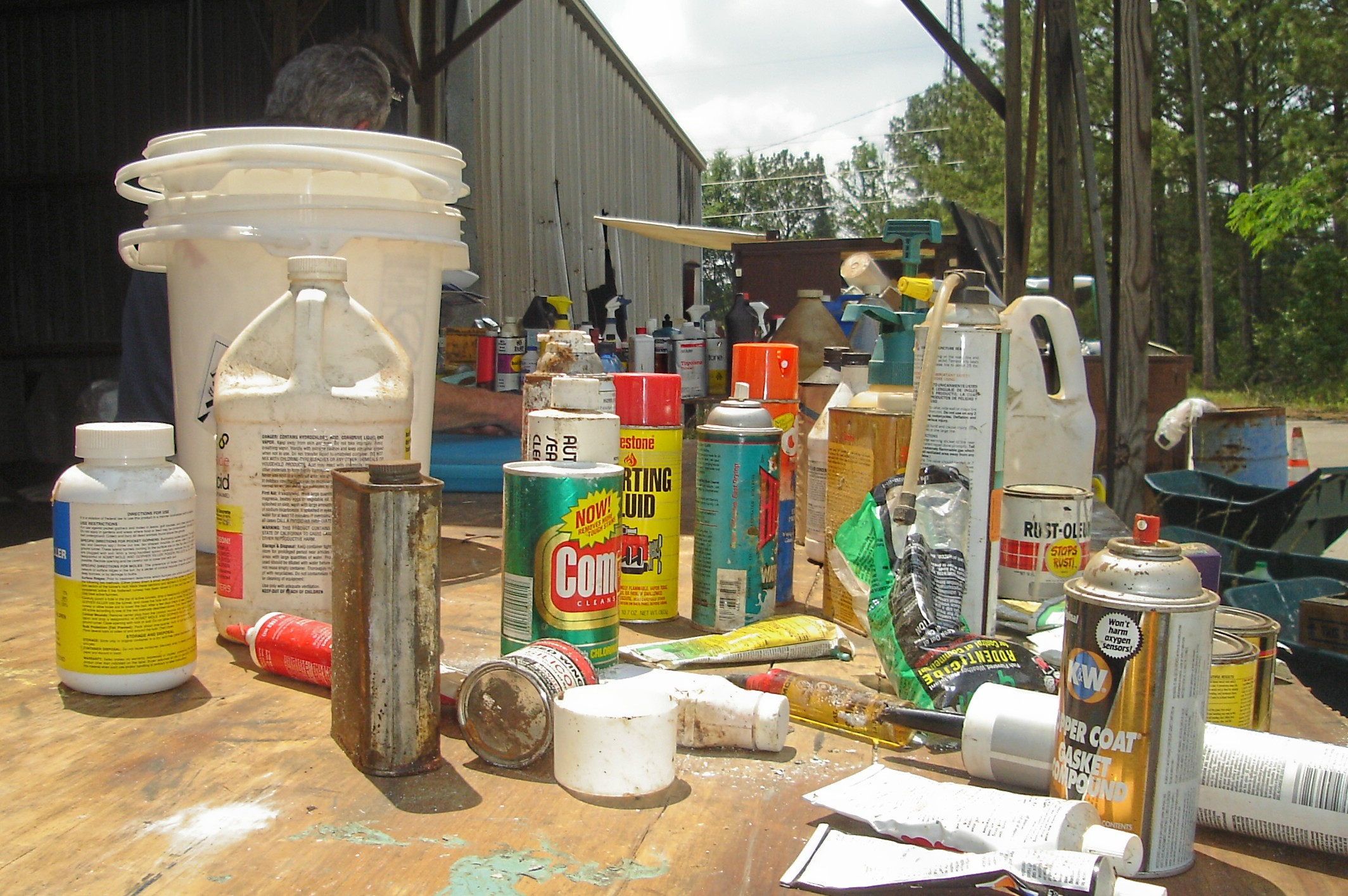 Household Hazardous Waste Collection Event April 10, 2021